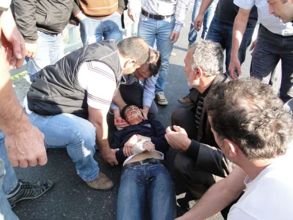Çaykara-Of karayolunda kaza; 1ağır 5 yaralı..Ekrem Haciahmetoğlu Ağır Yaralı..