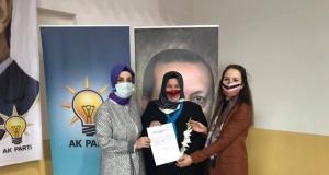 Ak Parti Of Kadın Kollarında Songül Okutan 3.kez başkan