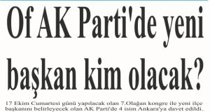 AK Parti'de yeni başkan kim olacak