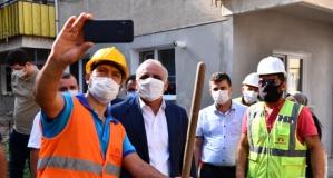 Başkan Zorluoğlu dev projenin çalışmalarını inceledi