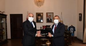 Başkan Zorluoğlu Sonel ve Güler'i ziyaret etti
