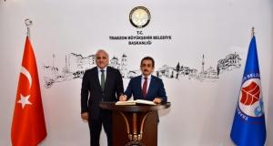 Bakan Yardımcısı Aksu'dan Başkan Zorluoğlu'na ziyaret