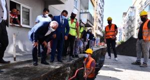 Büyükşehir meydan altyapısını yeniliyor