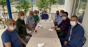 İnan ve Çapoğlu'ndan yaşlılara bayram ziyareti
