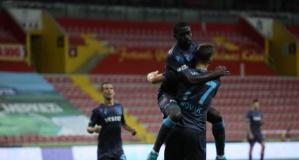 Trabzonspor ligi galibiyetle bitirdi
