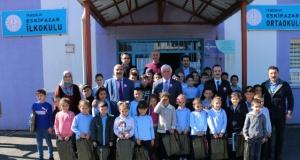Eskipazar İlkokulunda Vergi haftası kutlaması