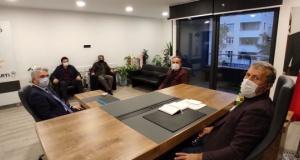 Of Medya Derneğinden Başkan Çapoğlu'na hayırlı olsun ziyareti