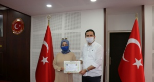 Kaymakam Fırat'tan VEFA SDG'deki eğitimcilere Belgesi