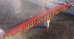 Solaklı'ya yaya köprüsü