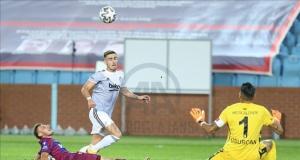 Trabzonspor açılış maçında Beşiktaş'a mağlup oldu