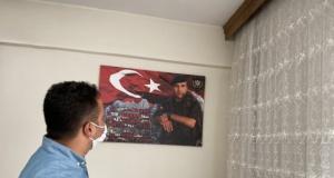 Kaymakam İnan'dan Şehit Ailelerine ziyaret