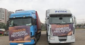 İzmir depremzedelerinin ekmeği Trabzon'dan