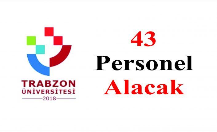 Trabzon Üniversitesi İŞKUR aracılığıyla 43 sürekli işçi alacak