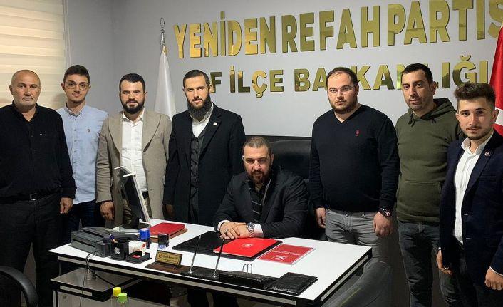 Yeniden Refah'ın Genel Başkan Yardımcıları Of'ta