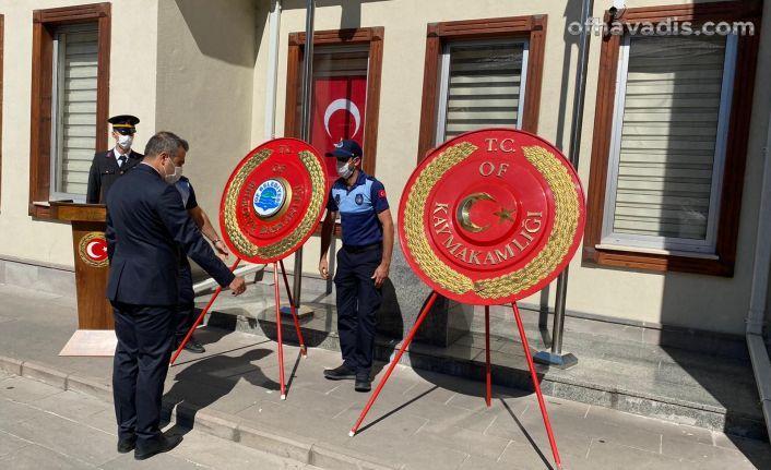 30 Ağustos Zafer Bayramı Of'ta törenle kutlandı