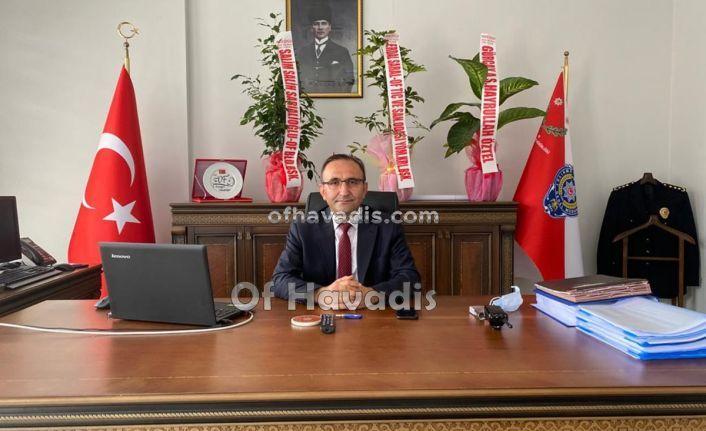 Of'un yeni emniyet müdürü Rafet Kantar