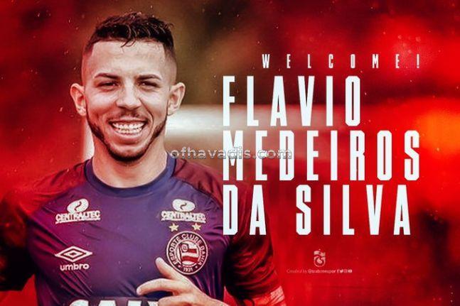 Trabzonspor, Flavio Medeiros da Silva'yı transfer etti