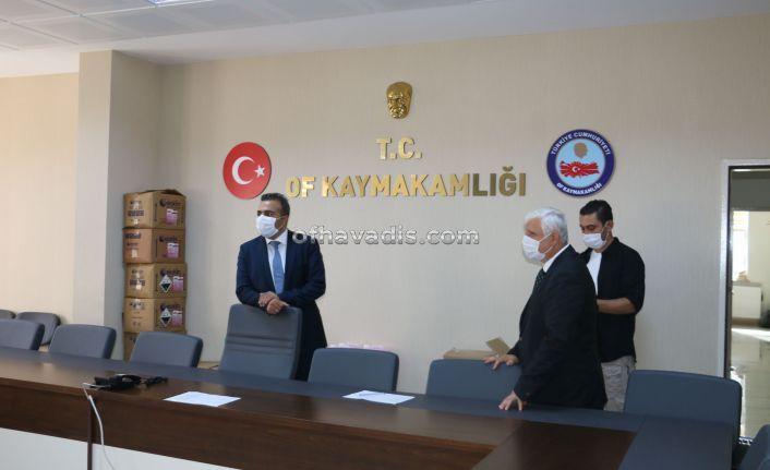 Kaymakam Çiçek'ten Müdür Kabahasanoğlu'na iadei ziyaret