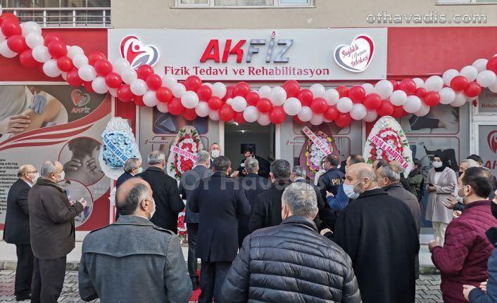 AKFİZ Fizik Tedavi ve Rehabilitasyon hizmete açıldı