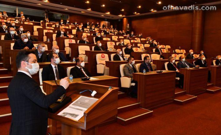 Başkan Zorluoğlu 3 projeyi meclise sundu
