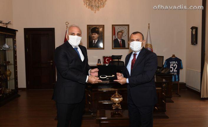 Başkan Zorluoğlu Vali Sonel ve Başkan Güler'i ziyaret etti