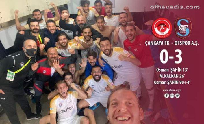 Ofspor Ankara'da coştu, 3. Sıraya yükseldi