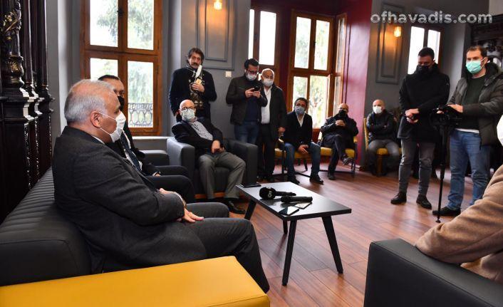 Başkan Zorluoğlu gazetecilerle buluştu
