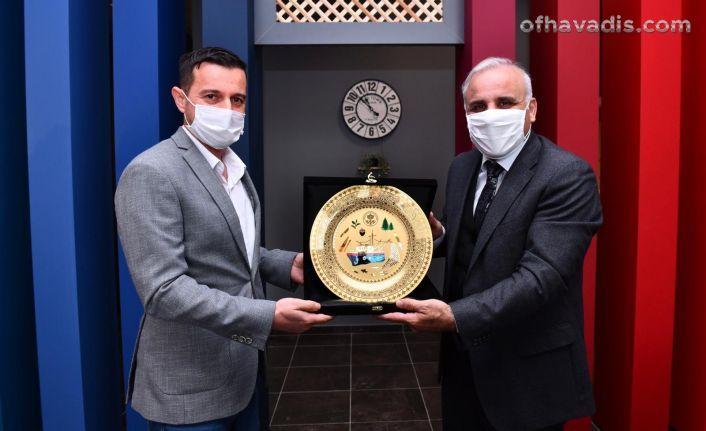 Başkan Zorluoğlu'ndan TSYD'ye ziyaret