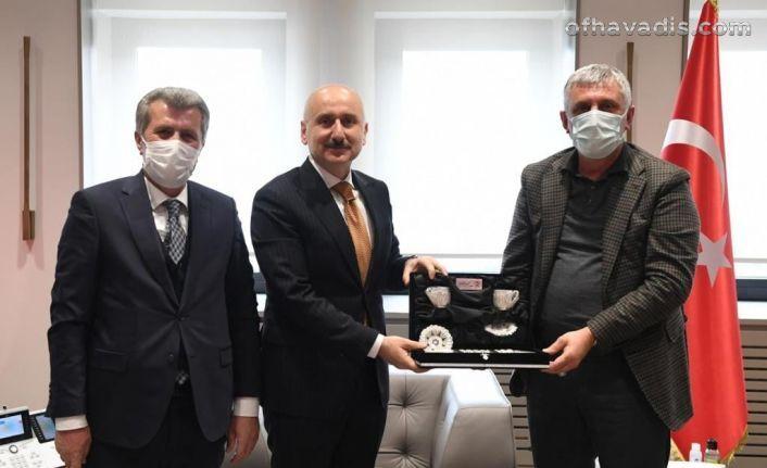Başkanlardan Varank ve Karaismailoğlu'na ziyaret