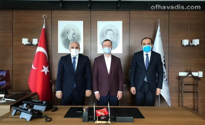 Başkan Zorluoğlu Ankara'da projeleri takibe aldı