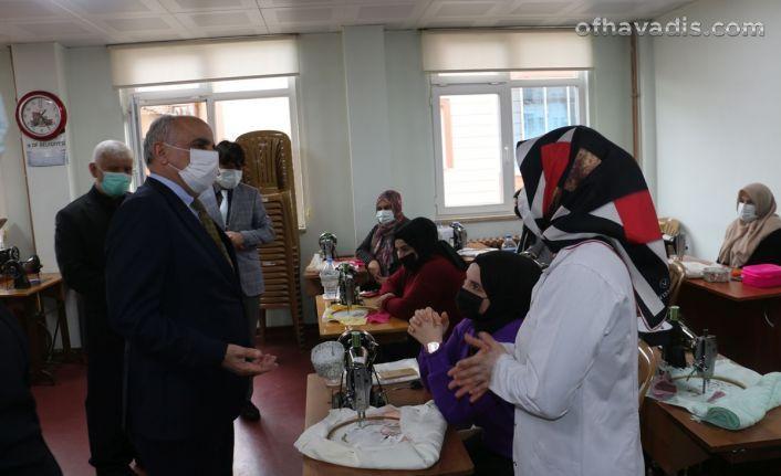 Müdür Aktaş'tan Of Halk Eğitim ve Of RAM'a ziyaret