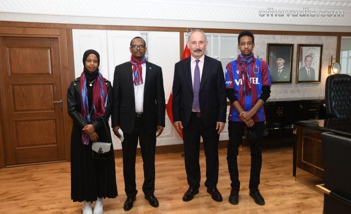 Somali Büyükelçisi Mohamed'den Büyükşehir'e ziyaret