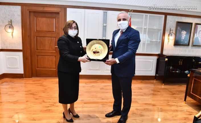 TBB Başkanı Şahin'den Büyükşehir'e Ziyaret