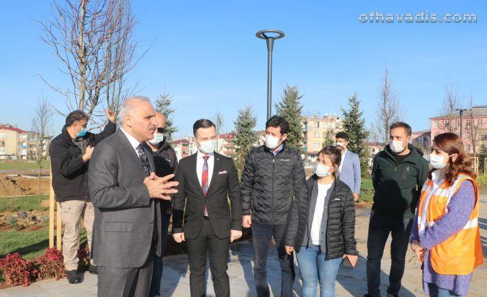 """Trabzon """"Spor"""" temalı millet bahçesine kavuşuyor"""