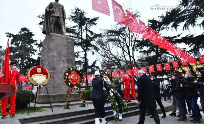 Trabzon'un kurtuluşunun 103. yıl dönümü kutlandı