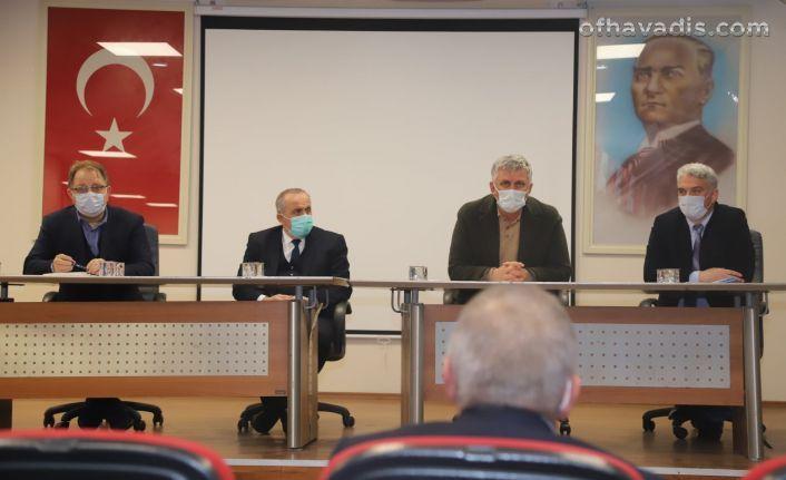 Başkan Sarıalioğlu personelle buluştu