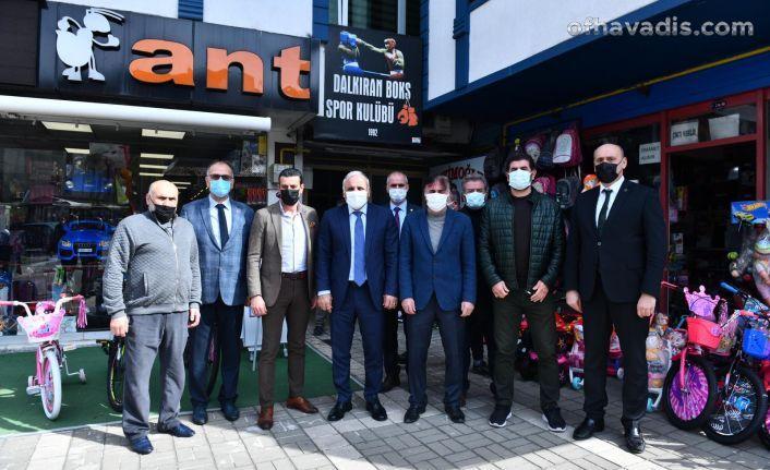 Başkan Zorluoğlu'ndan Bireysel Spor Temsilcileri Derneği'ne ziyaret