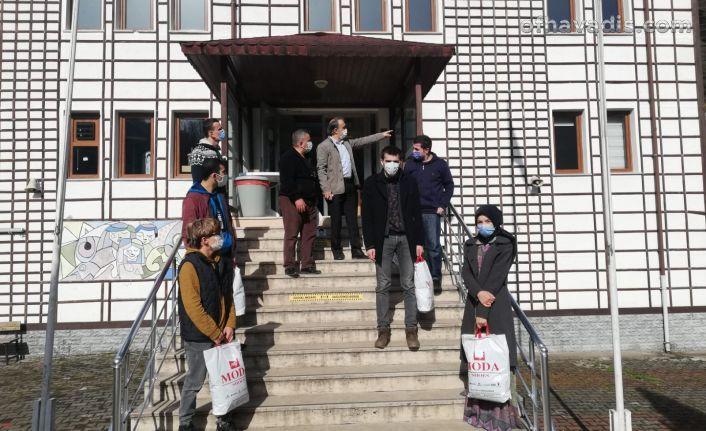 Güngören Trabzonlular Derneği'nden Cumapazarı'na eğitim desteği