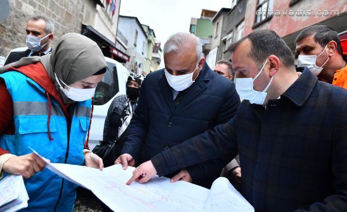 Başkan Zorluoğlu Çarşı Mahallesi esnafı ile bir araya geldi