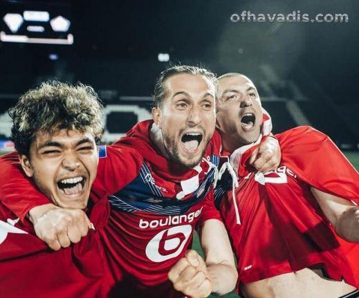 Yusuf ve Burak Lille'yi şampiyonluğa taşıdı