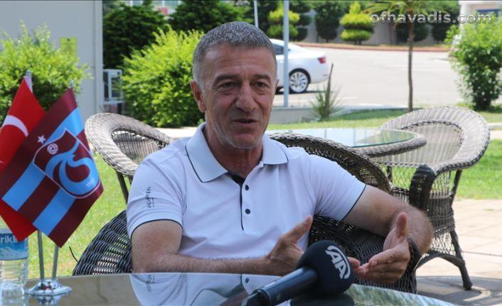 Ağaoğlu'nun yeni sezonda şampiyonluğa inancı tam
