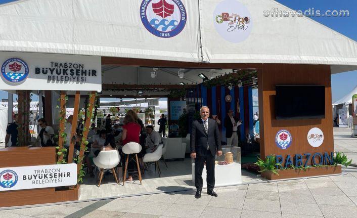 Başkan Zorluoğlu Trabzon'un gastronomi değerlerini anlattı