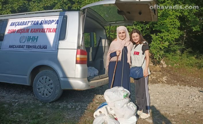 İHH'dan Batı Karadeniz sel felaketi için destek çağrısı