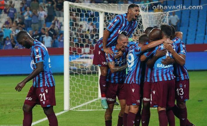 Trabzonspor Molde'yi elinden kaçırdı