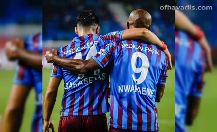 Trabzonspor Sivasspor'u yendi 2'de 2 yaptı