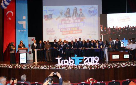 8. Trabzon istihdam fuarı kapılarını açtı
