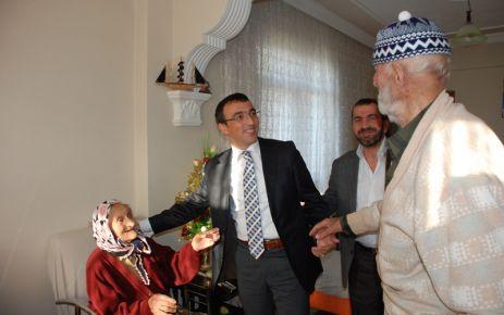 95 yaşındaki Safiye ninenin yaşam sevinci