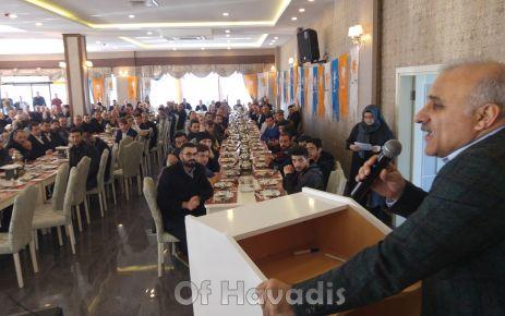 AK Parti Büyükşehir adayı Zorluoğlu Of'ta