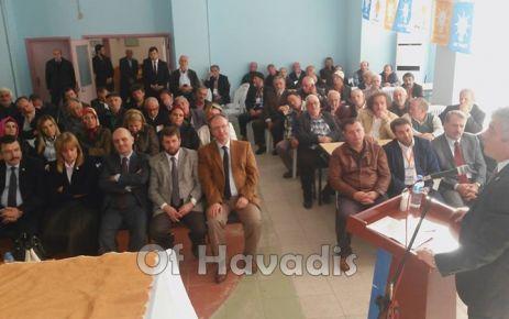 Ak Parti Çaykara ve Dernekpazarı kongrelerini yaptı