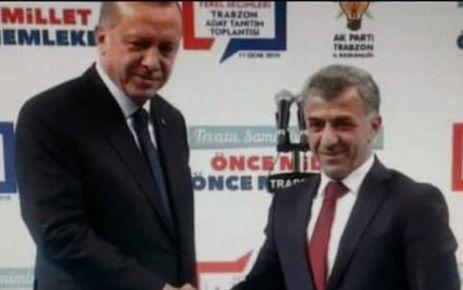 Ak Parti Çaykara'da Hanefi Tok ile devam dedi